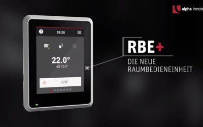 Die neue Raumbedieneinheit – RBE+