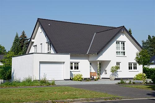 Einfamilienhaus mit Lüftungsanlage