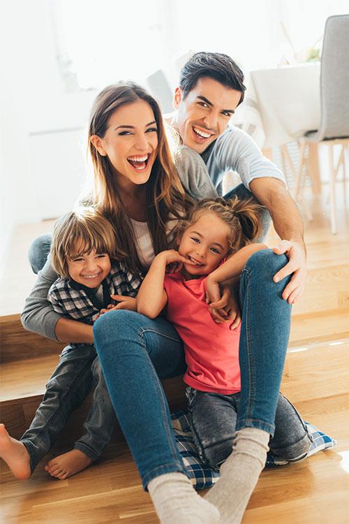 Mit einer Lüftungsanlage gehts der ganzen Familie gut
