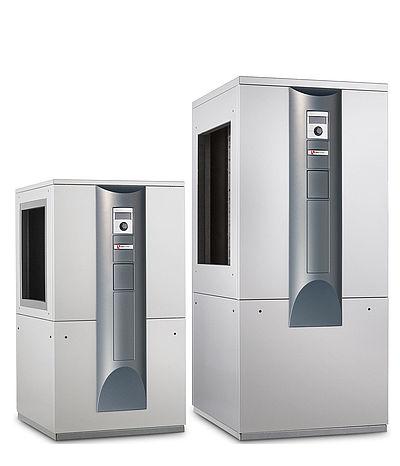 Luft-Wasser-Wärmepumpe zur Innenaufstellung alira LW