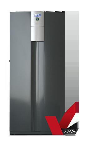 Luft-Wasser-Wärmepumpe zur Innenaufstellung alira LWCV