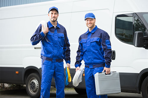 Kundendienst für Ihre Wärmepumpe Installateure